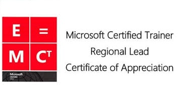 Microsoft Certfied Trainer Regional Lead