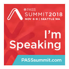 Speaking at PASS Summit Deardurff