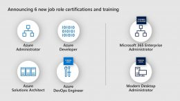 New Microsoft Certifications