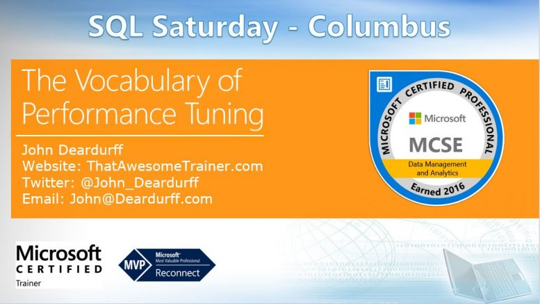 SQLSatColumbus