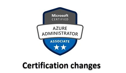 Azure Admin Changes