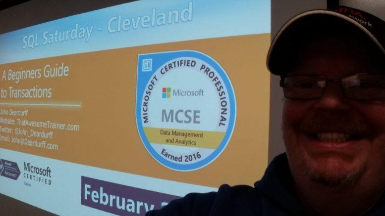 SQLSat Cleveland Deardurff